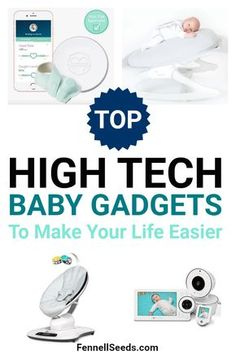 The Top 10 High-Tech Baby Gadgets That Will Make Your Life Easier High tech baby gadgets can make life with a newborn so much easier. Here are the top baby technology items to help you. Before Baby, After Baby, Baby Tech, What Is Sleep, First Time Parents, Baby Gadgets, Nursing Tips, Third Baby, Baby Arrival