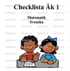 Checklista åk 1 matematik och svenska – Skolmagi.nu Teacher Education, School Teacher, Back To School, Classroom, Tips, Class Room, Entering School, Back To College, Counseling