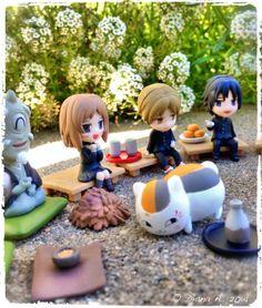 © Diana A. 2014 Natsume's Book Friends Weaving Story Humans & Ayakashi Figures Vol. 2