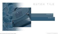#FashionSnoops FW 17/18 color on #WeConnectFashion. Men's Accessories: Dutch Tile - Soul Earth Tones Palette