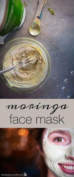 How to make a healing Moringa Face Mask
