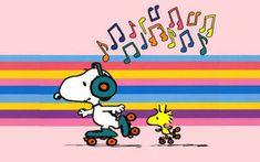 Snoopy & Woodstock - Roller Skating & listening to the music soon in Mundo sobre Ruedas santo domingo! Peanuts Cartoon, Peanuts Snoopy, Peanuts Comics, Happy Thursday Images, Thursday Quotes, Thankful Thursday, Charlie Brown Und Snoopy, Snoopy Und Woodstock, Snoopy Valentine