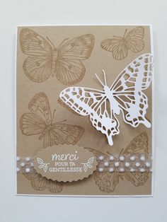 #butterflybrilliance #stampinup Bouquet, Stampin Up, Scrapbooking, Butterfly, Frame, Decor, Butterfly Jewelry, Picture Frame, Decoration
