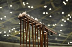 Timpani sticks with Forum Ceiling behind