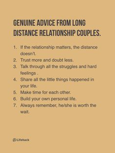 If You Are Having A Long Distance Relationship, I Promise This Could Help You.