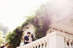 Saratoga Wedding at Villa Montalvo  Read more - http://www.stylemepretty.com/2014/01/24/saratoga-wedding-at-villa-montalvo/