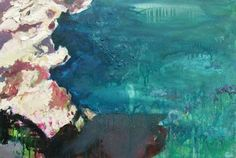 "Saatchi Online Artist: Katherine Russell; Oil 2005 Painting ""Cornish Water"""