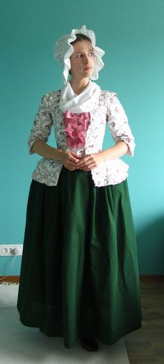 Flower print jacket a take on 18th century styling