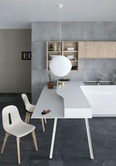 Diseños no convencionales y espectaculares para tres tipos de cocina diferente
