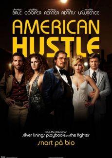 Den får det bli. Bio kanske. Poster American Hustle (2013)