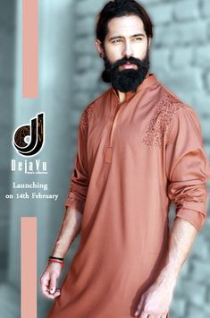 New Kurta Designs For Men 2014 - Deja Vu Kurta Shalwar Designs