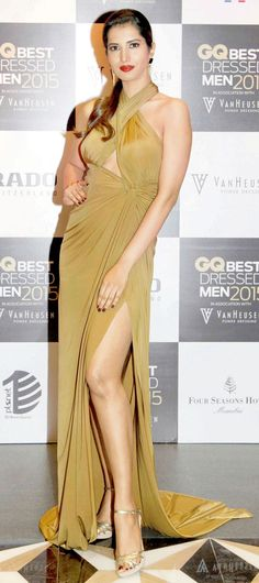Manasvi Mamgai at the GQ Best Dressed Men 2015 - #GQBestDressed. #Bollywood #Fashion #Style #Beauty #Sexy #Hot