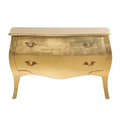 Ladekast Romantic Gold Leaf Big