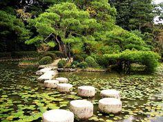 Heian Shrine garden, Kyoto Japan (Lost in translation filming location)