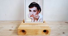 Check out this item in my Etsy shop https://www.etsy.com/listing/470312417/acoustic-wood-amplifier-speaker-for