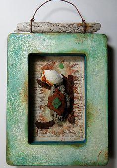 Beach Memories by Julia Stratford-Wright #decoartprojects