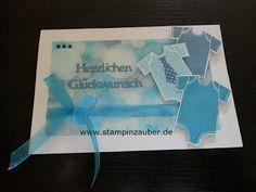 Karte zur Geburt von Silvi Unabh. Stampin' Up! Demonstratorin Jena Thüringen