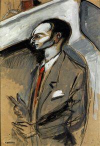 PORTRAIT, Auguste Elisée Chabaud