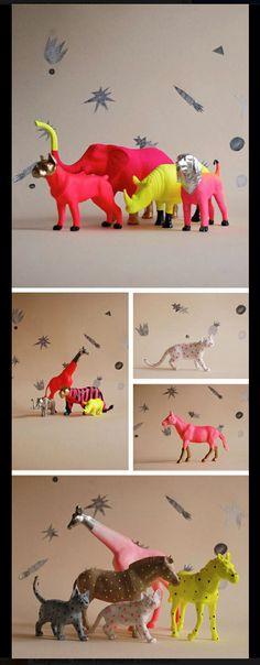 neon animals