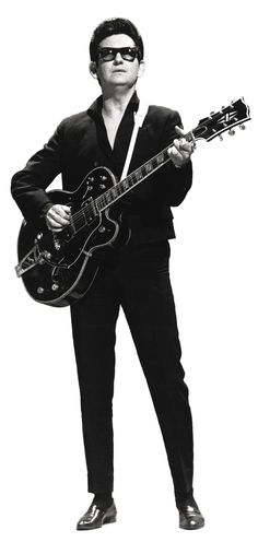 """Roy Orbison.....WOW,....GRETA VINTAGE PIC OF ONE OF MY FAVORITE SINGERS.....ROY HAD SUCH A TRAGIC LIFE, MAY HE REST IS PEACE AND MAY """"GOD"""" ALWAYS WATCH OVER HIM......R.I.P."""