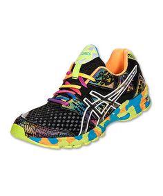 Loving this Black GEL®-Noosa Tri 8 Running Shoe - Men on #zulily! #zulilyfinds