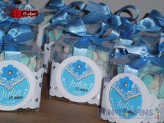 Painéis e Afins: Tudo azul... 15 anos com estilo!