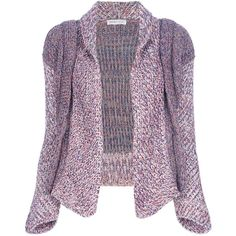 See by Chloe chunky knit cardigan ($640) ❤ liked on Polyvore