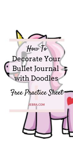 How to Make Your Bullet Journal Pretty