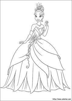 142 dessins de coloriage princesse à imprimer sur LaGuerche.com ...
