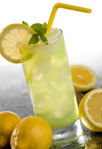 Homemade Lemonade: Stir together 1 1/2 cups sugar and 1/2 cup boiling water until sugar dissolves. Stir in 2 tsp. grated lemon rind, 1 1/2 cups freshly squeezed lemon juice, and 5 cups cold water. Chill for 8 hours.