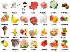 Lebensmittel auf Spanisch