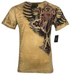 XTREME COUTURE by AFFLICTION Men T-Shirt COBU SMITHSONIAN Biker MMA UFC S-5X$40