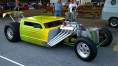 Modern ratrod turned clown car- LOL my thoughts exactly!!!!!! <<< repinned by http://geistreich78.info
