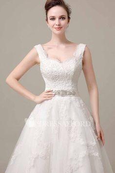 dcad435b6153 Lace Jeweled Waistband Sleeveless V-Neckline Dress