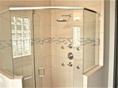 Transitional shower remodel Shower Remodel, Mom And Dad, Divider, Household, Concept, Interiors, Elegant, Room, Rum