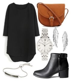Geen titel #323 by daimy-style on Polyvore featuring polyvore мода style H&M FOSSIL Monica Vinader LeiVanKash fashion clothing