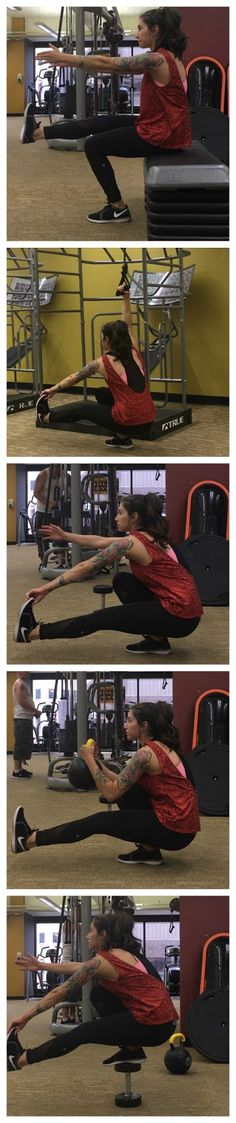 Tori Lin: Mastering the Pistol Squat: Pistol Squat Progressions
