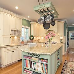 This Country French kitchen remodel is an excellent example of the much sought after style trend.