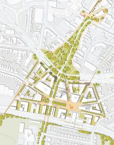 I like the attention to green space here. [DL] Friargate TOD Matsreplan…