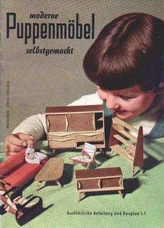 Miniature modern dollhouse furniture d-boxed: January 2010