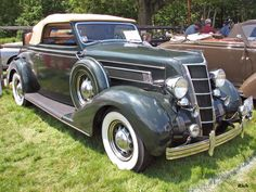 1935 Chrysler Airstream Convertible Maintenance/restoration of old/vintage vehicles: the material for new cogs/casters/gears/pads could be cast polyamide which I (Cast polyamide) can produce. My contact: tatjana.alic@windowslive.com