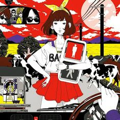 Asian Kung-Fu Generation - Feedback File 2 cover album #Ajikan #AKG #AKFG #AsianKungFuGeneration #FeedbackFile2 #YusukeNakamura