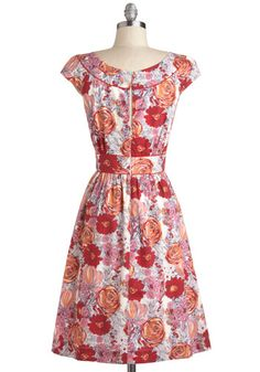 Day After Day Dress in Bouquets, #ModClothback