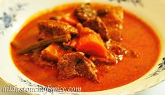 Hilda's Touch of Spice: Spicy Beef & Vegetable Curry