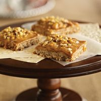Pumpkin Butterscotch Fudge Bars #HEBHolidayMeal