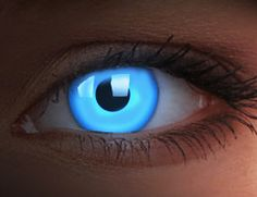 UV glow contact lenses -- I think it would be cool to cosplay the movie Dune. These would be perfect for Fremen.