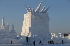 Wondrous Ice and Snow World - 16th Harbin Show in China Check more at http://oddstuffmagazine.com/ice-and-snow-world-16th-harbin-show-in-china.html