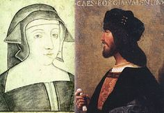 As the political situation changed, Pope Alexander VI looked to align with France, enemy of Alfonso's family. To this end he arranged a marriage between Cesare Borgia and Charlotte of Albret, sister of King John III of Navarre.
