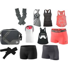 """my favorite gym clothes"" by jenniferlaelnelson"