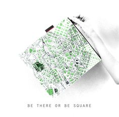 my square tyvek clutch #athens #downtown